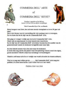 Commedia Dell' Seyst